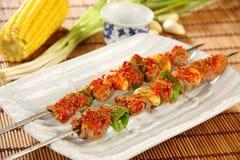 Comida deliciosa china Fotografía de archivo
