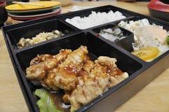 Comida determinada del pollo japonés Fotografía de archivo
