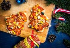 Comida divertida de la Navidad para los niños Fotografía de archivo libre de regalías