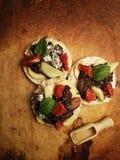 Comida dulce de la caída Foto de archivo