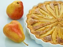 Comida dulce: Ninguno-cueza la torta con las galletas de harina de avena Imagenes de archivo