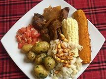 Comida ecuatoriana fotografía de archivo libre de regalías
