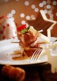 Comida festiva del banquete Fotos de archivo libres de regalías