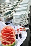 Comida fría al aire libre Foto de archivo