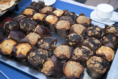 Comida fría cocida fresca de los molletes Imágenes de archivo libres de regalías