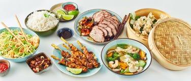 Comida fría de clasificado de platos chinos de la comida Foto de archivo