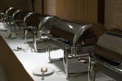 Comida fría de la comida en restaurante abastecimiento en el hotel para el banquete de boda b Fotografía de archivo