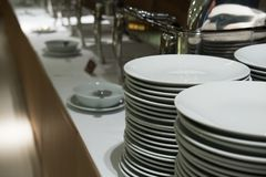 Comida fría de la comida en restaurante abastecimiento en el hotel para el banquete de boda b Imagen de archivo libre de regalías