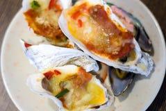 Comida fría de los mariscos Fotografía de archivo libre de regalías