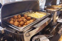 Comida fría del restaurante imagen de archivo libre de regalías