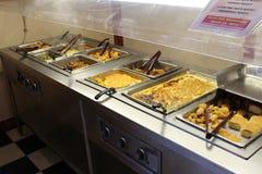 Comida fría meridional del desayuno Foto de archivo libre de regalías