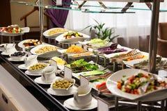 Comida fresca 1 de la foto de la comida fría del restaurante Fotos de archivo