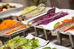 Comida fresca 3 de la foto de la comida fría del restaurante Imagen de archivo libre de regalías