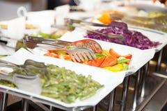 Comida fresca 4 de la foto de la comida fría del restaurante Foto de archivo