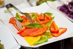 Comida fresca 6 de la foto de la comida fría del restaurante Imagen de archivo
