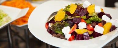 Comida fresca 9 de la foto de la comida fría del restaurante Fotografía de archivo