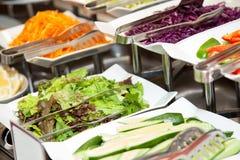 Comida fresca 2 de la foto de la comida fría del restaurante Fotografía de archivo