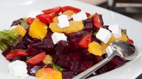 Comida fresca 11 de la foto de la comida fría del restaurante Imagen de archivo libre de regalías