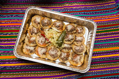 Comida guatemalteca Imagen de archivo libre de regalías