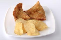 Comida india imagen de archivo