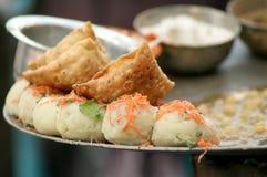 Comida india de la calle Imagenes de archivo