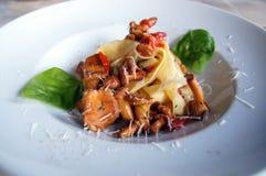 Comida italiana imagen de archivo
