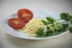 Comida italiana hecha en casa Imagenes de archivo
