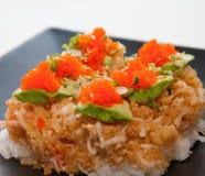 Comida japonesa de la fusión Imagen de archivo libre de regalías