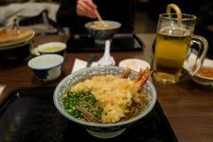 Comida japonesa en Kagoshima fotografía de archivo libre de regalías