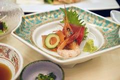Comida japonesa fina Foto de archivo