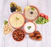 Comida libanesa Foto de archivo libre de regalías
