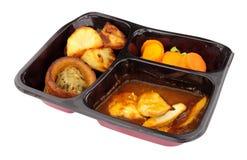 Comida lista del pollo asado Foto de archivo libre de regalías