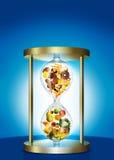 Comida lixo e alimento saudável ilustração do vetor