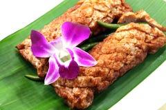 Comida local tailandesa Foto de archivo libre de regalías