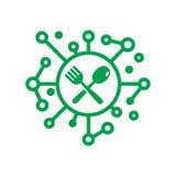 Comida Logo Icon Design de Digitaces libre illustration