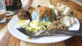 Comida malasia Foto de archivo