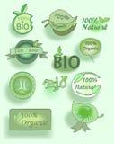comida-mano orgánica dibujada Fotos de archivo libres de regalías