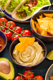 Comida mexicana mezclada Fotografía de archivo libre de regalías