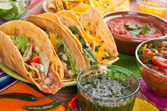 Comida mexicana tradicional Foto de archivo
