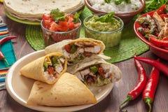 Comida mexicana tradicional Imagenes de archivo