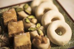 Comida oriental para el período del Ramadán Fotografía de archivo libre de regalías
