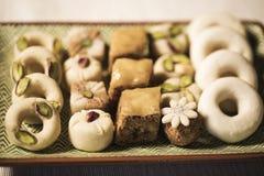 Comida oriental para el período del Ramadán Imagen de archivo