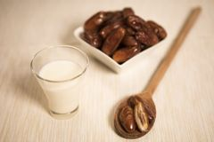 Comida oriental para el período del Ramadán Foto de archivo