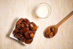 Comida oriental para el período del Ramadán Fotos de archivo