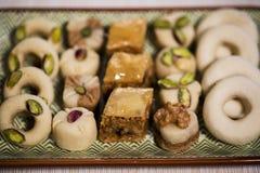 Comida oriental para el período del Ramadán Imágenes de archivo libres de regalías