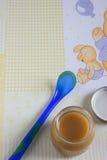 Comida para bebé Foto de Stock