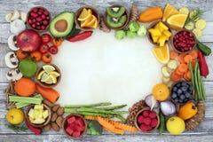 Comida para la buena salud foto de archivo