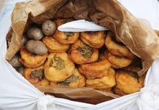 Comida peruana de la calle Fotos de archivo libres de regalías