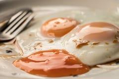 Comida por la mañana Fotografía de archivo libre de regalías