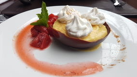 Comida postre. Dessert food hotel stock photo